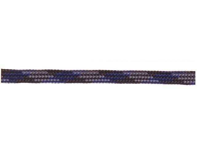 Barth Schuhbandl Halfronde Schoenveter 180cm, blue/grey